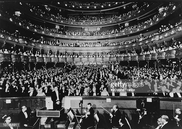 Concert At Metropolitan Opera In New York