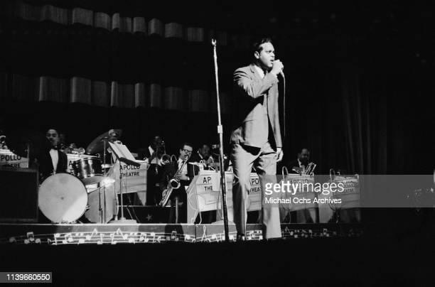 Concert at the Apollo Theater in New York City, circa 1962.