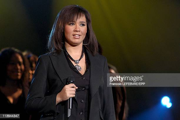 Concert at the Olympia on the 50th anniversary of RTL 9 Chanel In Paris France On February 07 2005Chimene Badi