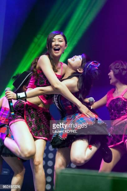 Concert Berryz Kobo x °Cute à Japan Expo le 2 juillet 2014 au parc des expositions de Villepinte France