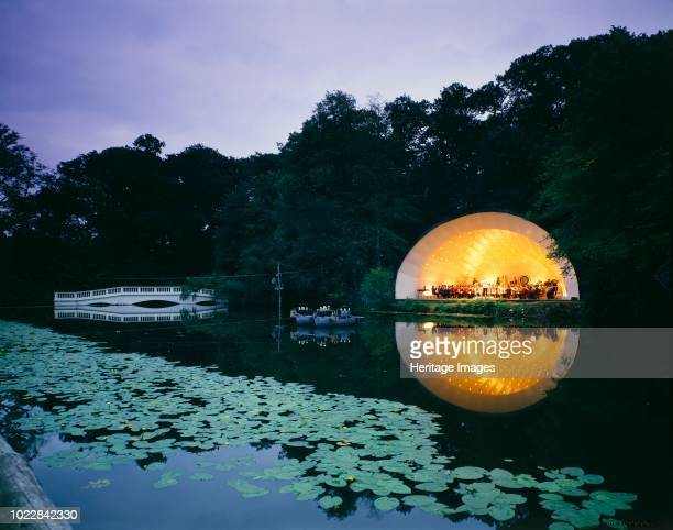 Concert bowl by the lake Kenwood House Hampstead London circa 1980circa 2017 Artist Unknown