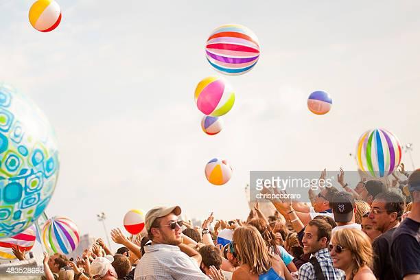 Folla al concerto Summer Music Festival