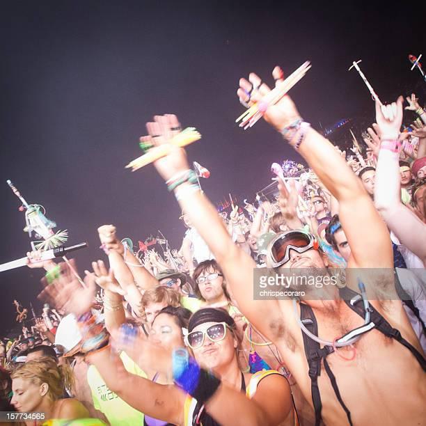 Concert Crowd Cheering