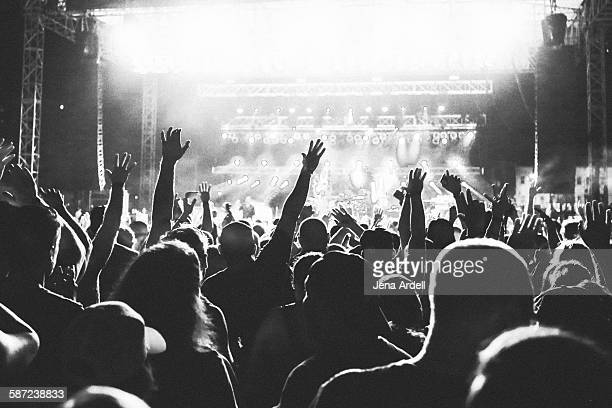 Concert Crowd Concert Stage
