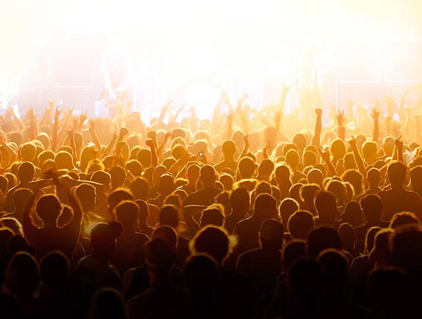 Concert Crowd Wall Art