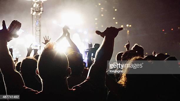 Konzert Menschenmenge