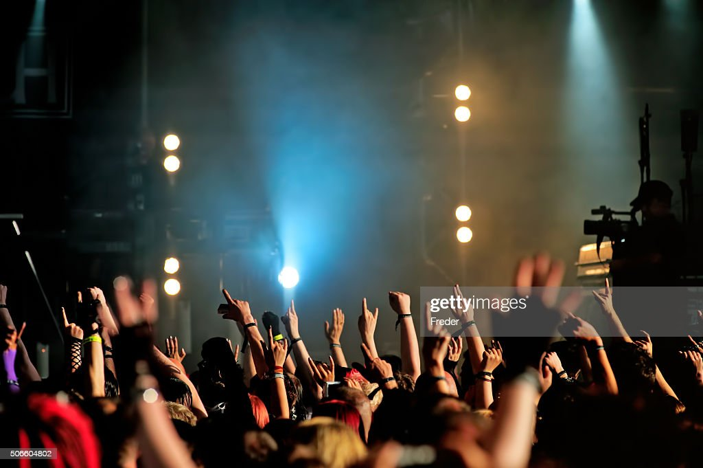 concert crowd : Stock Photo