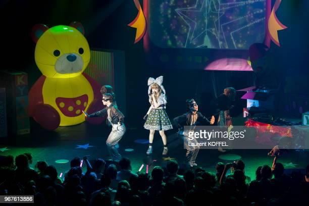 Concert de la chanteuse Japonaise Kyary Pamyu Pamyu au Bataclan le 25 avril 2014, Paris, France.