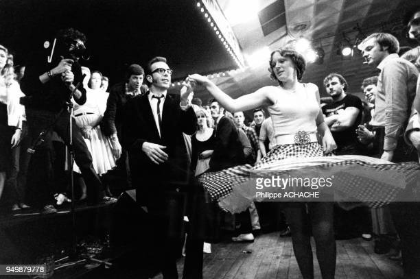 Concert de Ray Campi His Rockabilly Rebels lors d'un festival de Teddy Boys à Great Yarmouth le 5 mar 1979 RoyaumeUni