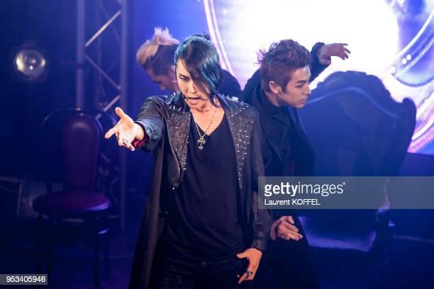 Concert du chanteur Coreen Park Jung Min au Divan du monde Paris France