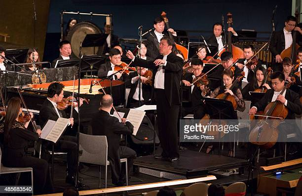 Concert featuring Conductor Long Yu and the Shanghai Symphony Orchestra plaid at United Nations Headquarters in New York City The Concert was in...