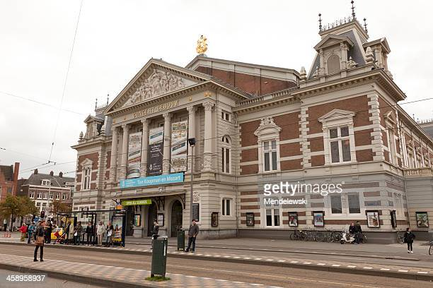 """""""concert gebouw"""" amsterdam - concert hall stock pictures, royalty-free photos & images"""