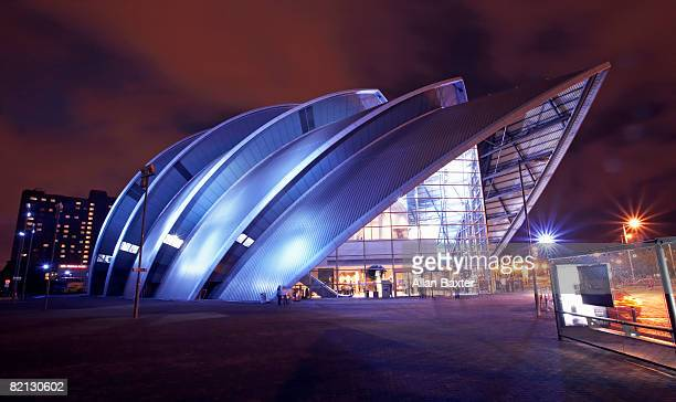 concert hall - clyde auditorium stock pictures, royalty-free photos & images