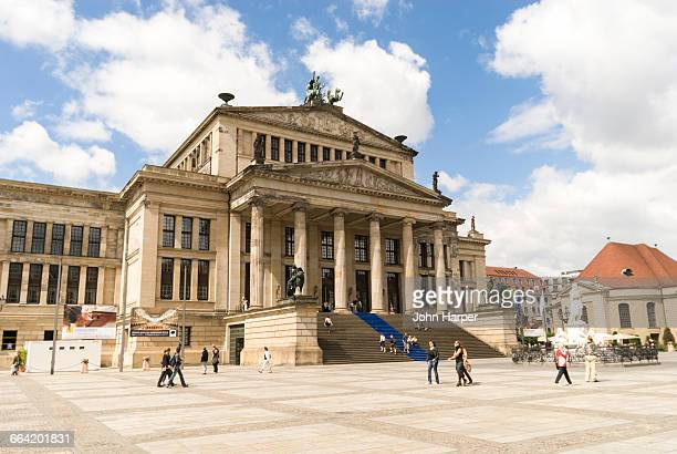 concert house, berlin, germany - konzerthaus berlin stock pictures, royalty-free photos & images