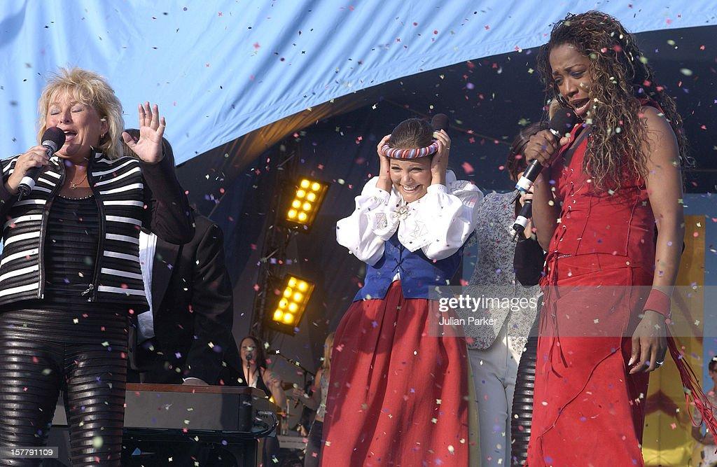 Crown Princess Of Sweden'S 25Th Birthday Celebrations. : News Photo