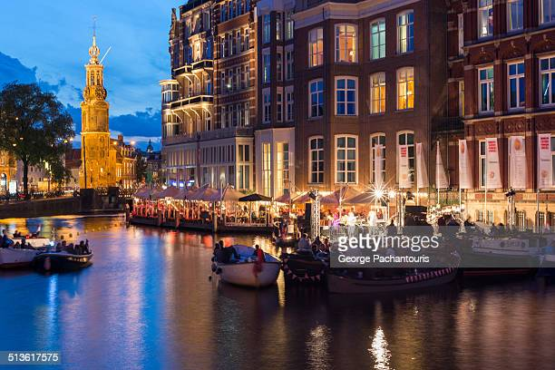 Concert in the canals of Amsterdam
