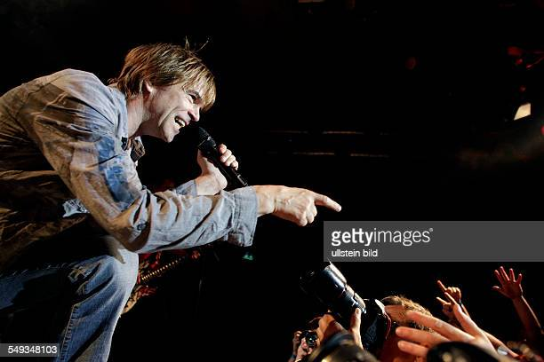 Concert of 'Die Toten Hosen' a German rock band from Düsseldorf with singer Campino at the Gloria Theater Cologne