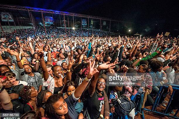 Concert of Stromae in Kigali pict by Raphael Cardinael © Photo News picture not included in some contracts