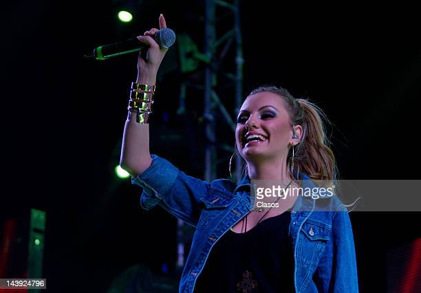 Concert of the romanian singer Alexandra Stan at Six Flags Mexico on May 04 2012 at Mexico City Mexico