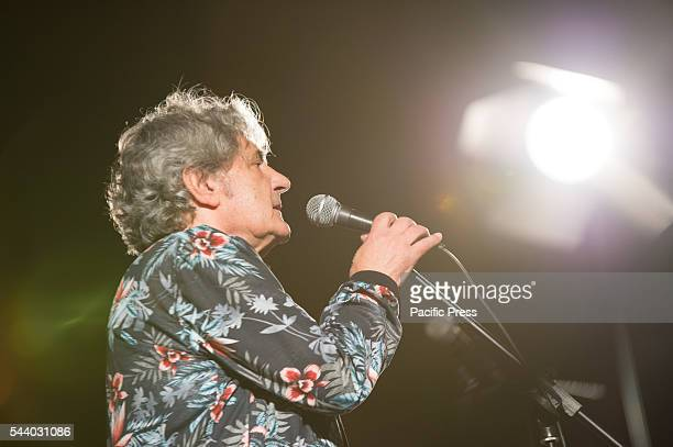DANTE MOLFETTA MOLFETTA BARI ITALY ITALY Concert of the singer Fausto Leali at Corso Dante in Molfetta accompanied by the Jazz Studio Orchestra of...