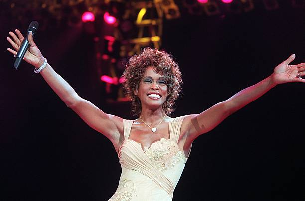 in profile whitney houston photos and images getty images. Black Bedroom Furniture Sets. Home Design Ideas