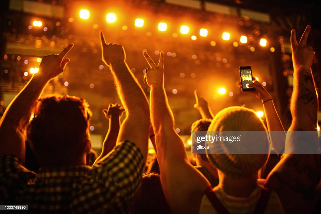 Concert party : Stock Photo