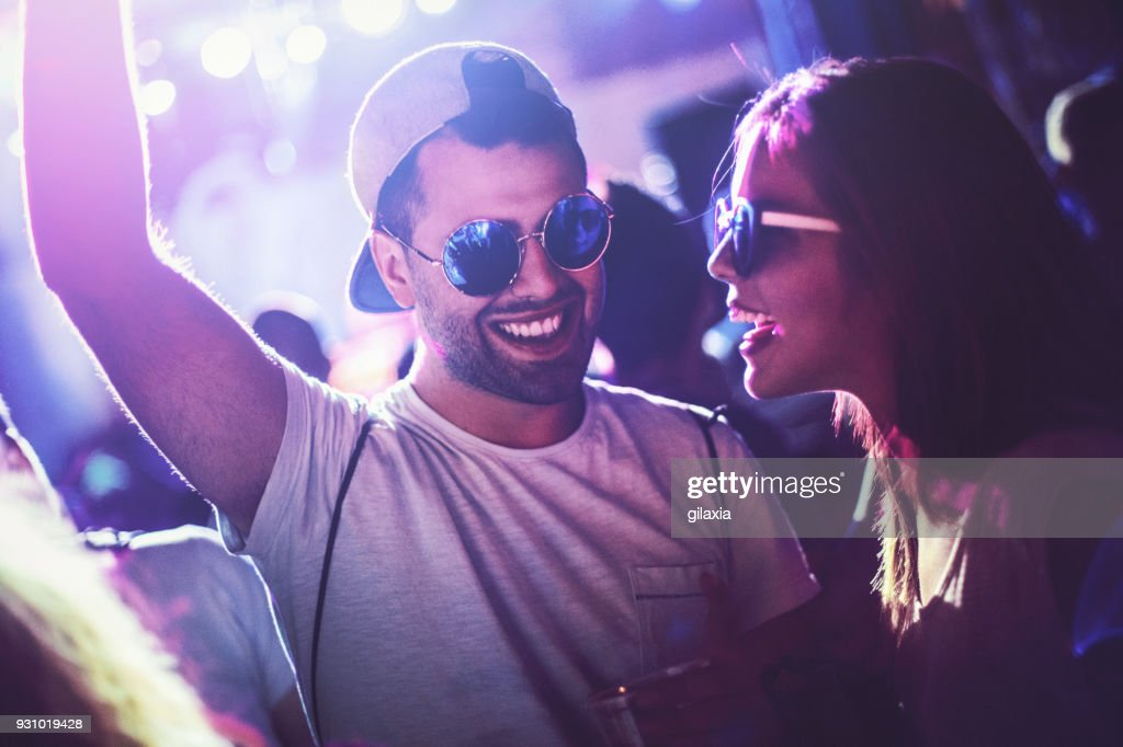 Concert party. : Stock Photo