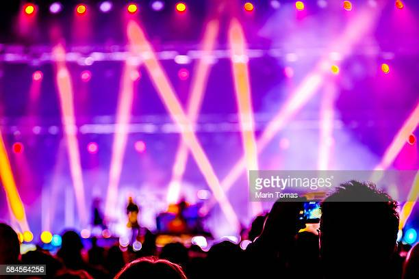 concert - entertainment event stock pictures, royalty-free photos & images