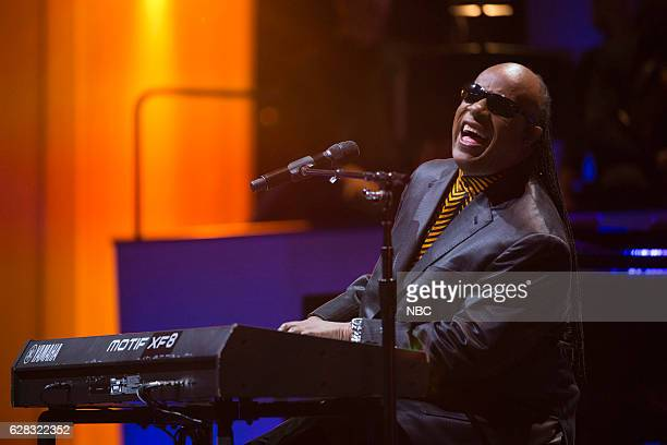 Concert -- Pictured: Stevie Wonder --