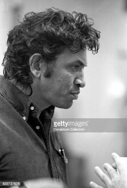Concert promoter Bill Graham backstage August 15 1972 at the Berkeley Community Theatre in Berkeley California