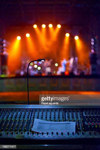 Concert stage lights