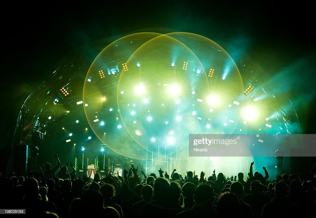 Concert Stage : Stock Photo