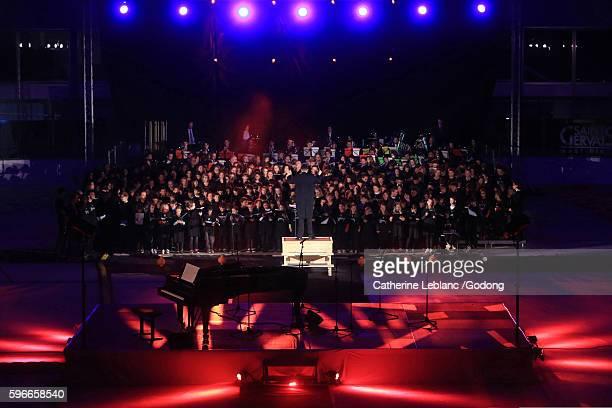 Concert Tchikidan. Work of Etienne Perruchon. Children's choir.