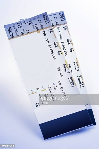 concert tickets - ticket stock pictures, royalty-free photos & images