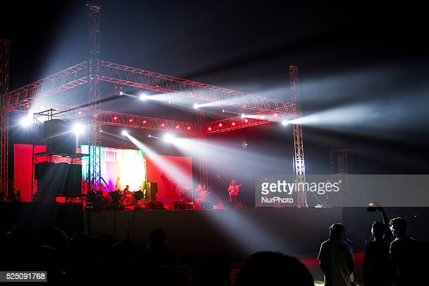 A concert was arranged in Dhaka University campus to celebrate the Victory day
