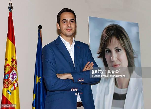 Concha Garcia Campoy's son, Lorenzo Diaz, attends the presentation of Concha Garcia Campoy Journalist Awards on October 28, 2014 in Madrid, Spain.