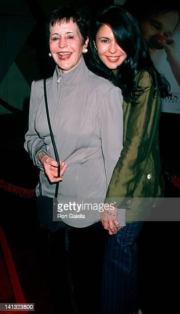 Conchita Bustillo and Maria Conchita Alonso at the Los Angeles Premiere of 'Patch Adams', Cinerama Dome Theater, Universal City.