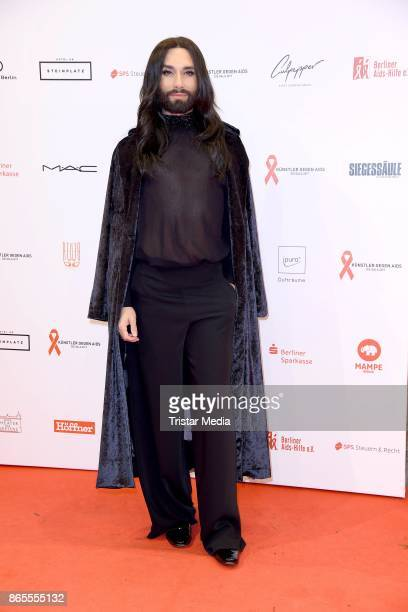 Conchita Wurst attends the Artists Against Aids Gala at Stage Theater des Westens on October 23 2017 in Berlin Germany