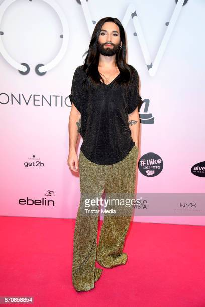 Conchita Wurst attends the GLOW - The Beauty Convention at Station on November 4, 2017 in Berlin, Germany.