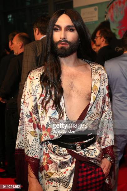 Conchita Wurst during the 13th Live Entertainment Award 2018 at Festhalle Frankfurt on April 9 2018 in Frankfurt am Main Germany