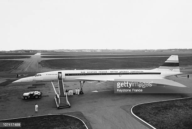 Concorde 001 After His First Flight At Toulouse In France On March 2Nd 1969