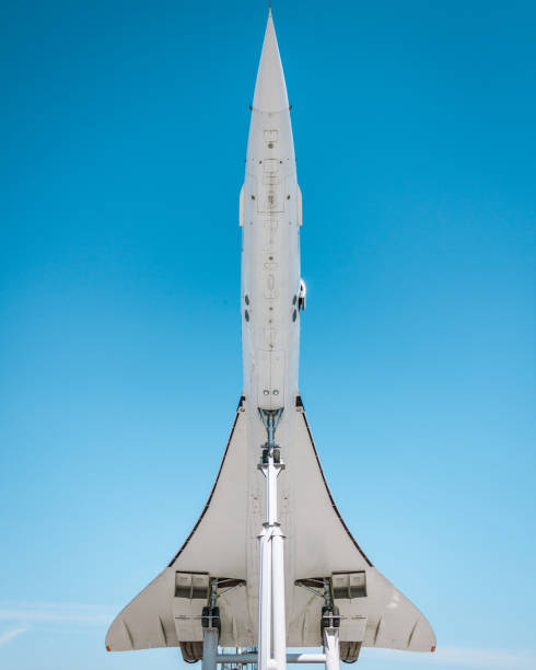 Concorde Aircraft From Below.