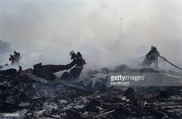 Concorde crash of air France in Gonesse France on July 25th 2000