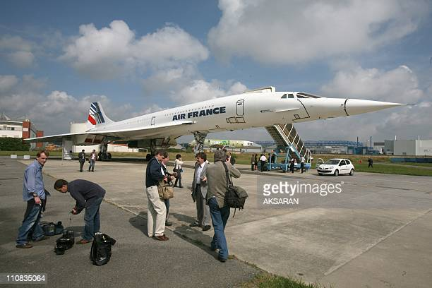 Concorde ' Fox Charlie' Parts For Sale In Toulouse France On June 08 2007 PIECES of the iconic Concorde supersonic airliner will be auctioned in...
