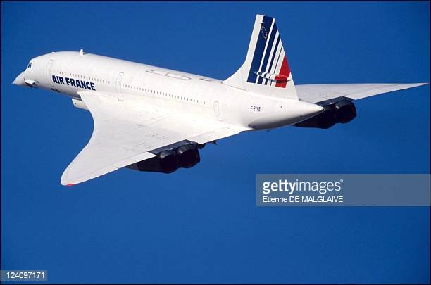 Concorde resumes training flight In Chateauroux France On September 11 2001