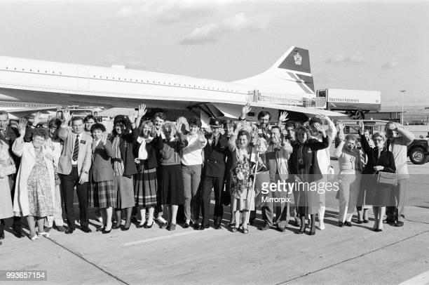 Concorde World Tour November 1986