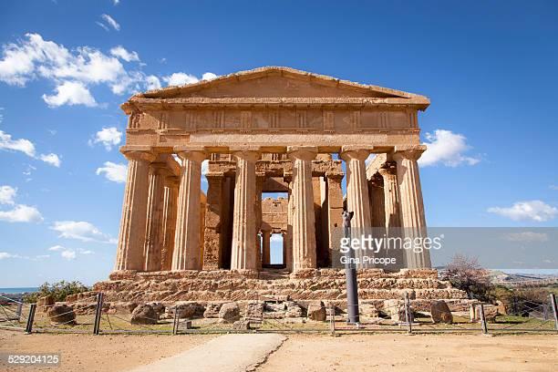 Concordia Temple in Sicily