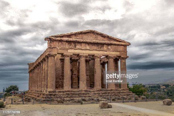 old greek temple concordia among most