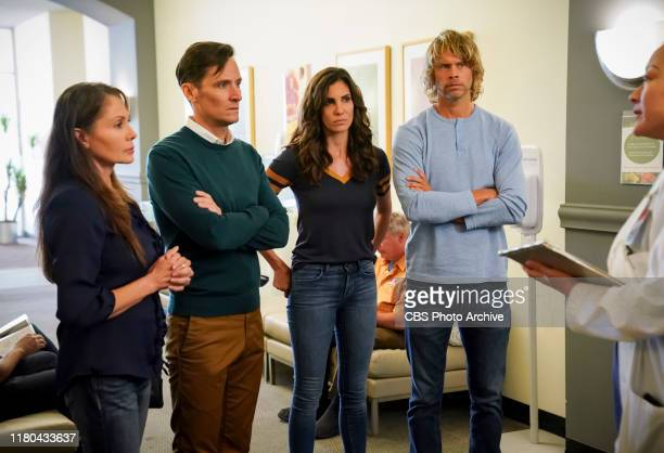 Concours D'Elegance Pictured Christian Barillas Daniela Ruah and Eric Christian Olsen The NCIS team links the theft of an undersea drone prototype to...