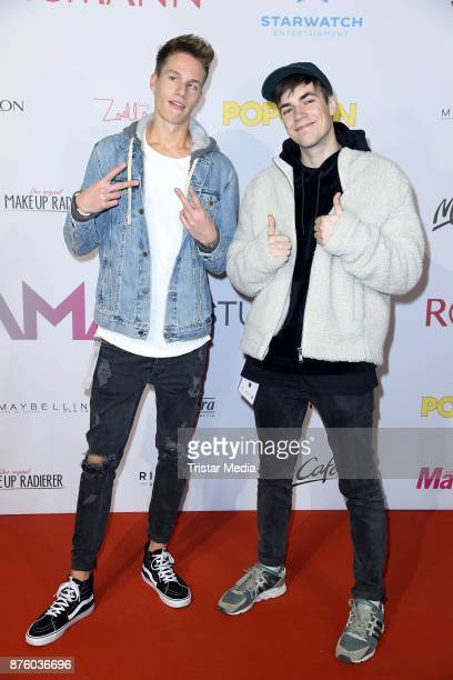 ConCrafter and KranCrafter attend the Stylorama on November 18 2017 in Dortmund Germany